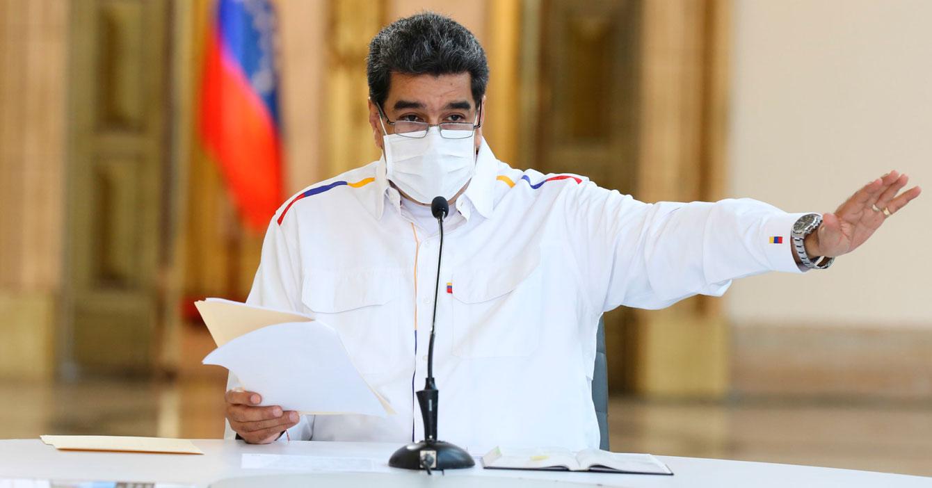Maduro extiende cuarentena hasta que todos dejen de quejarse de todo