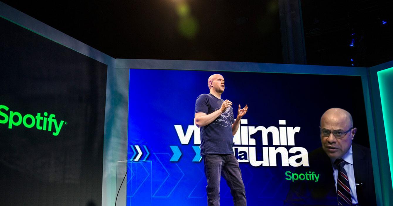 Spotify compra derechos exclusivos de Vladimir a la 1 por $100 millones