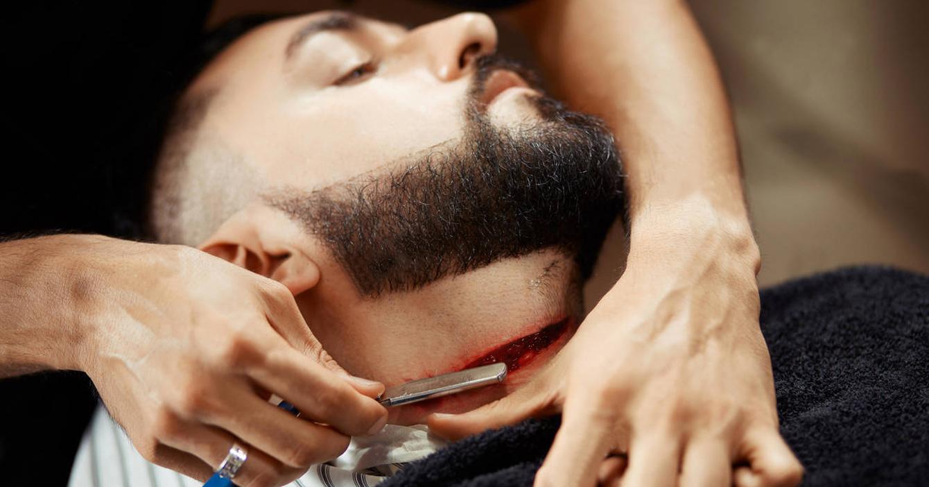 Chamo penoso muere desangrado tras no decirle a su barbero que le cortó la yugular
