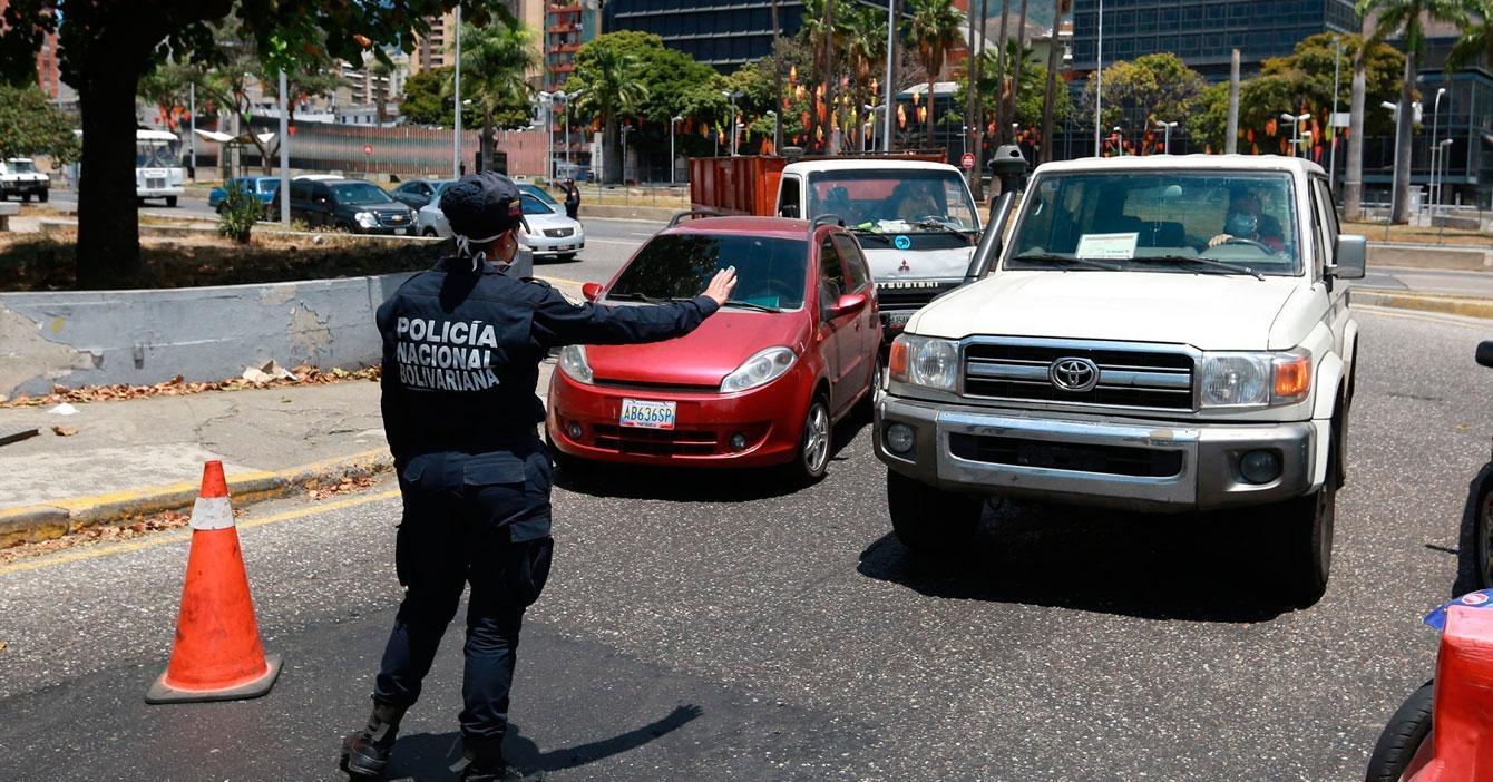 Coronavirus desiste de entrar a Municipio Libertador para no ser matraqueado en alcabala