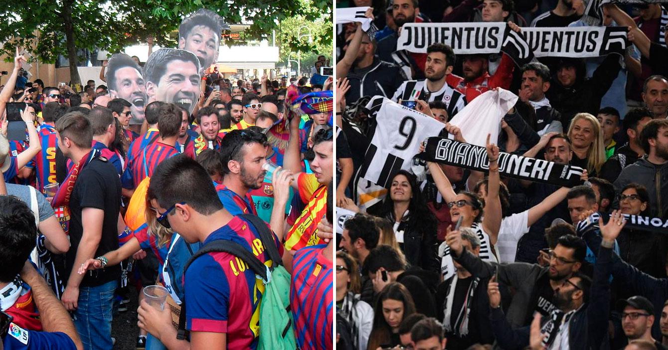 Barcelona y Juventus firman trueque de fanáticos ladillas