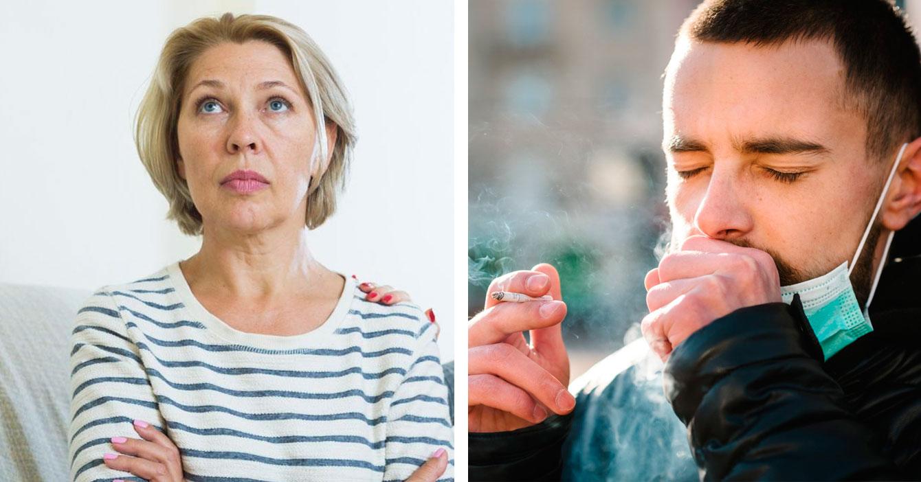 Mamá preocupada tras descubrir que su bebé de 952 semanas comenzó a fumar