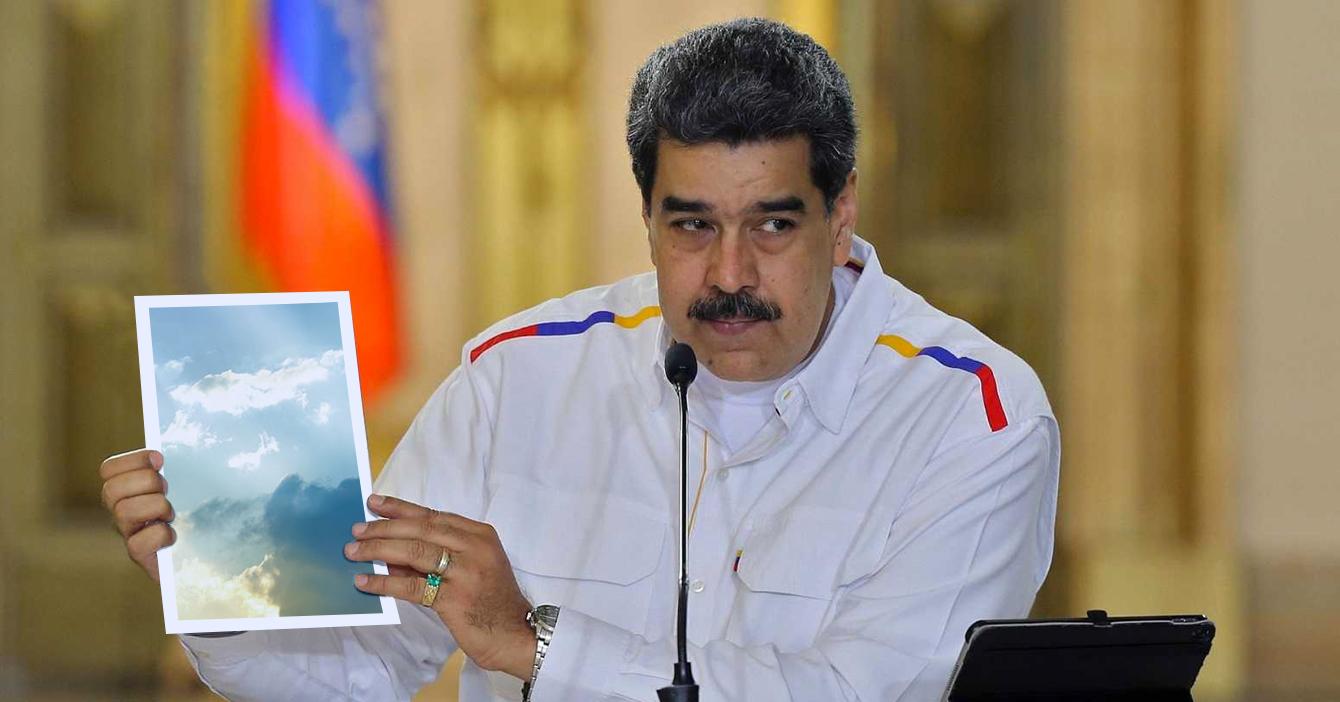 Maduro pide a iglesias alojar enfermos de coronavirus en el cielo
