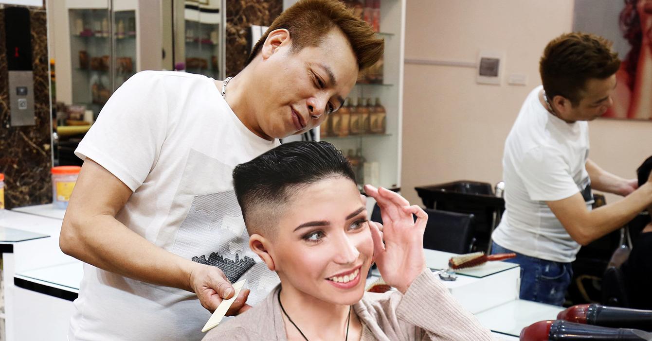 Abre primera peluquería norcoreana en el Sambil