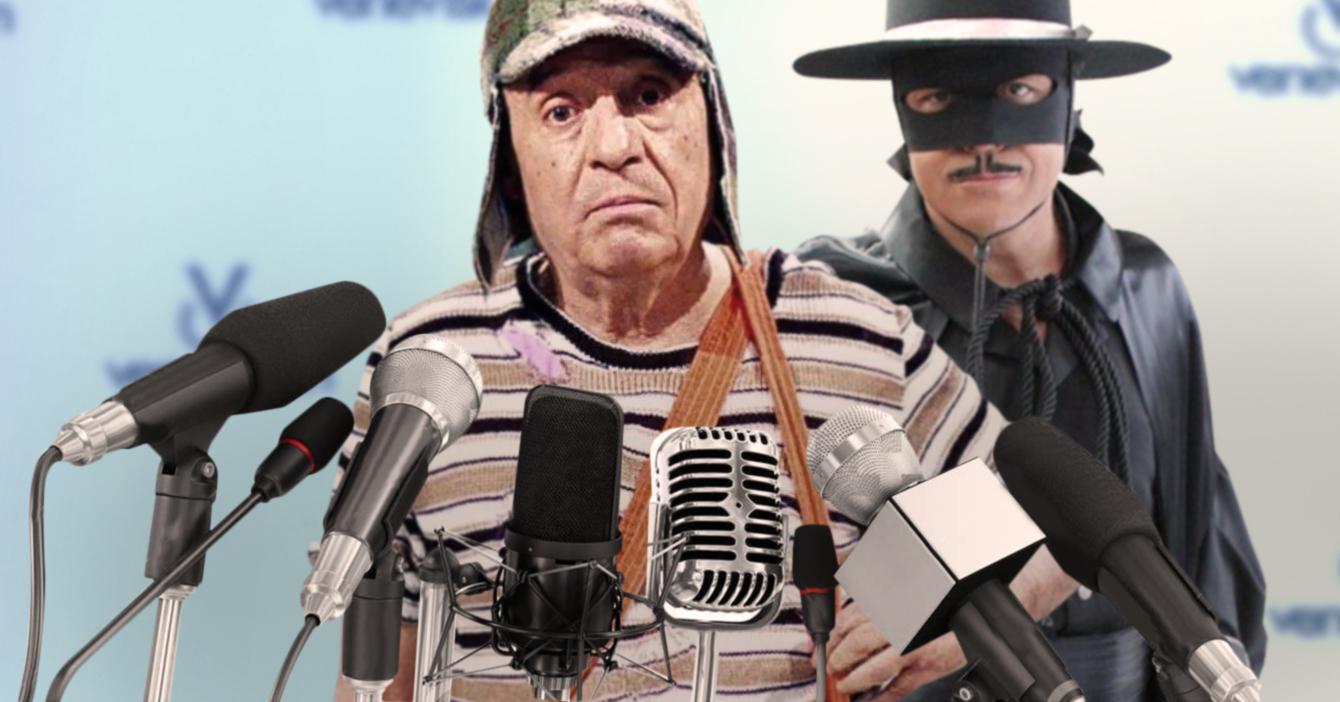 El Zorro y El Chavo introducen demanda a Venevisión por explotación laboral