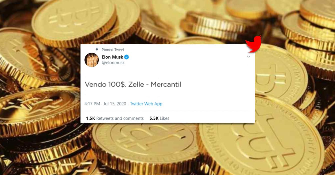 Elon Musk busca quien le cambie $100 a bolívares en Mercantil