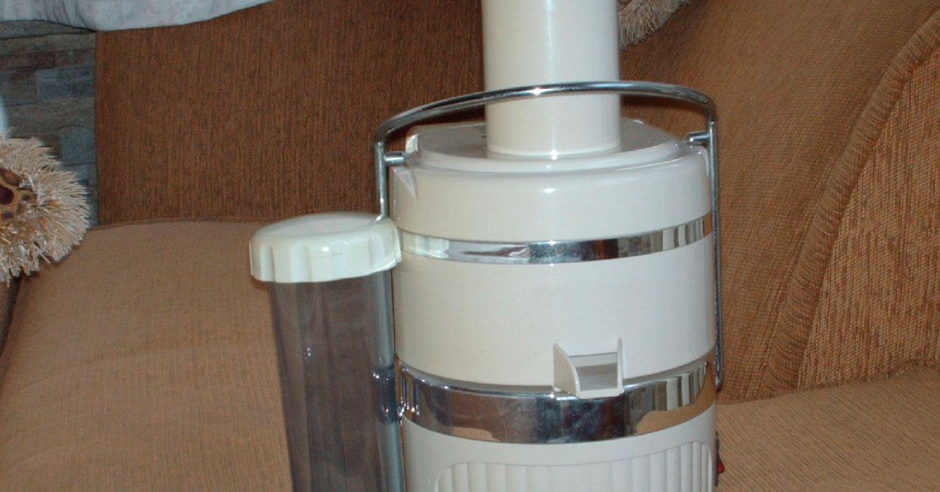 Extractor de jugos cumple 40 años sin ser usado