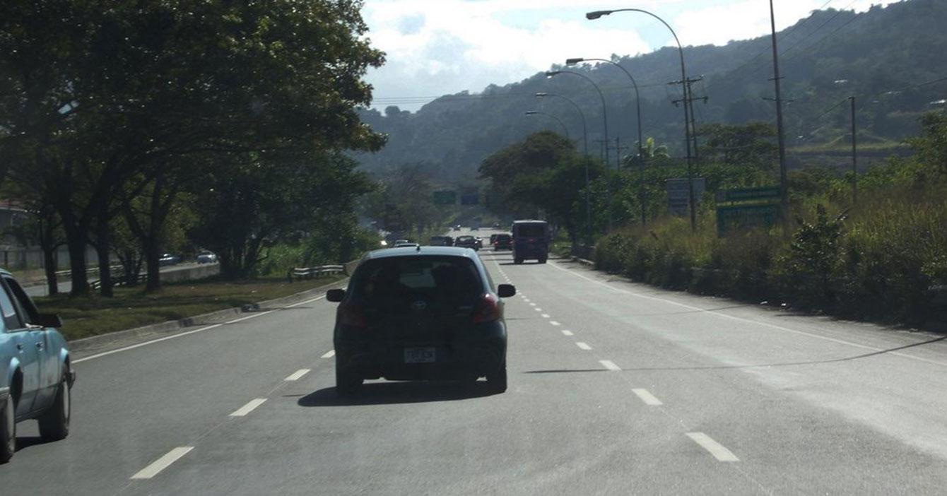 Caraqueño da vuelta por Guarenas para evitar pasar por alcabala de Las Mercedes