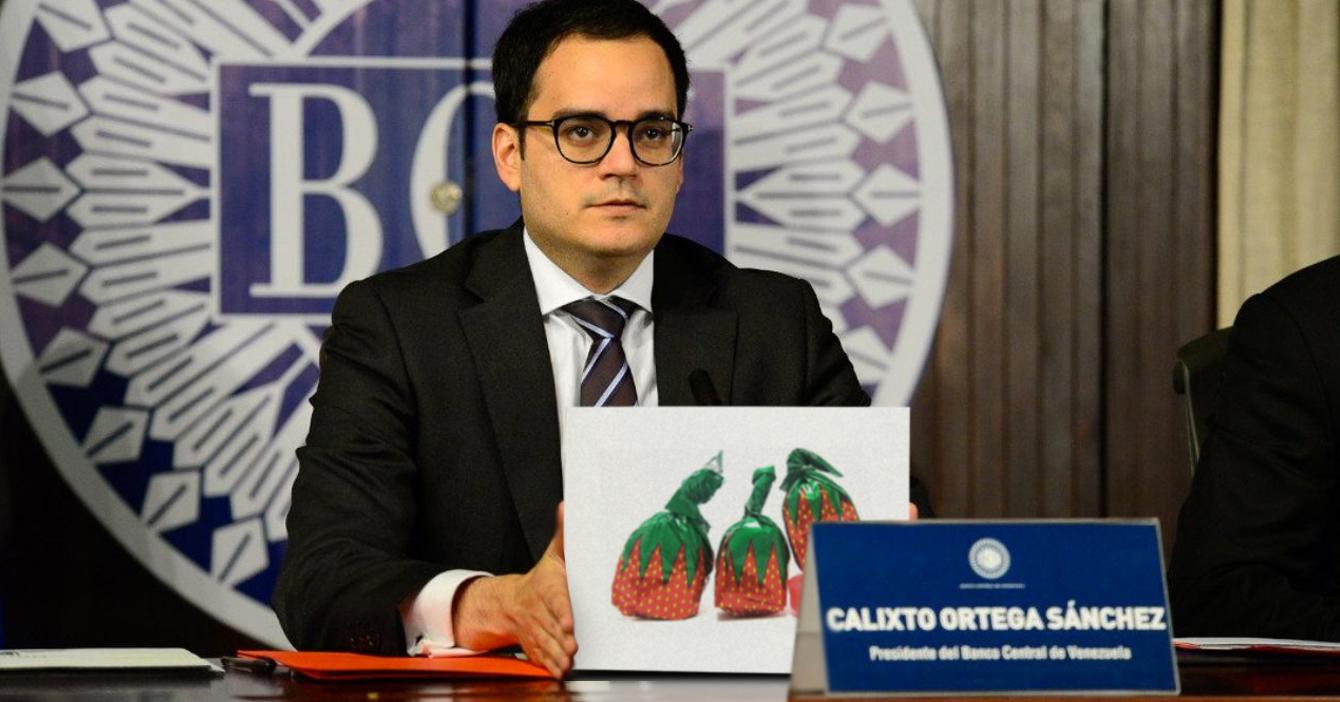 Banco Central de Venezuela crea el nuevo bolívar caramelito de fresa para pagar diferencias
