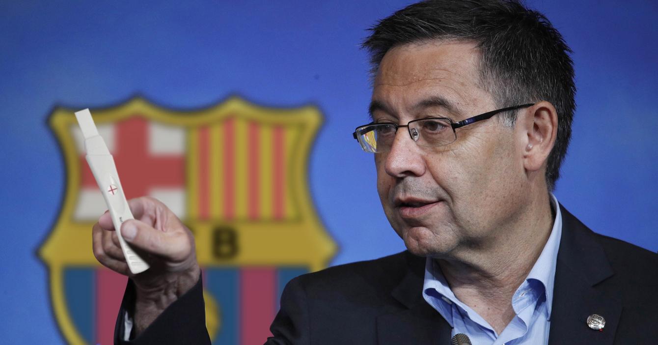 Barcelona le dice a Messi que está embarazada para que no la deje