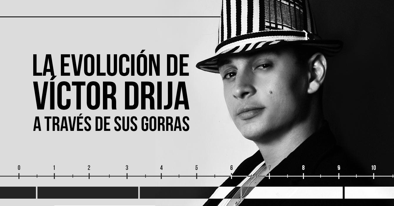 La evolución de Víctor Drija a través de sus gorras - Análisis fílmico