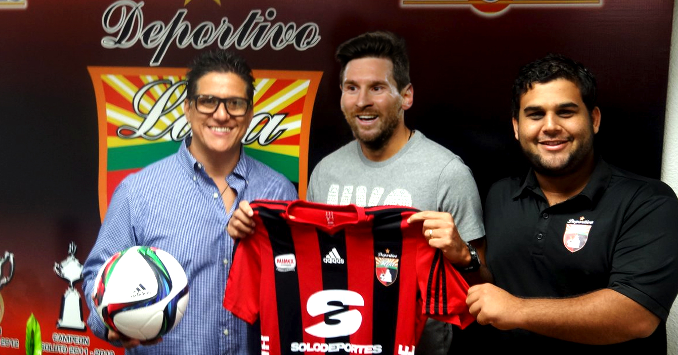 Deportivo Lara le pregunta a Messi si acepta PagoMóvil