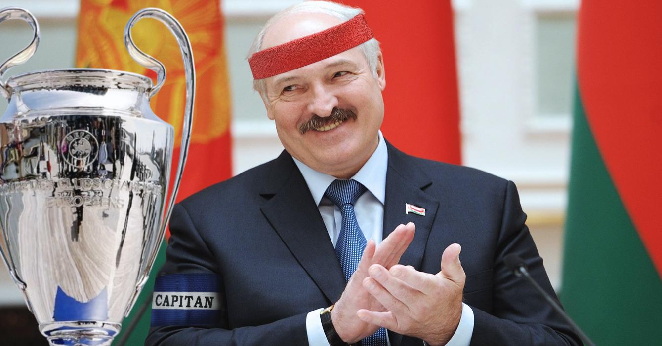 Dictador Lukashenko se declara campeón de la Champions League