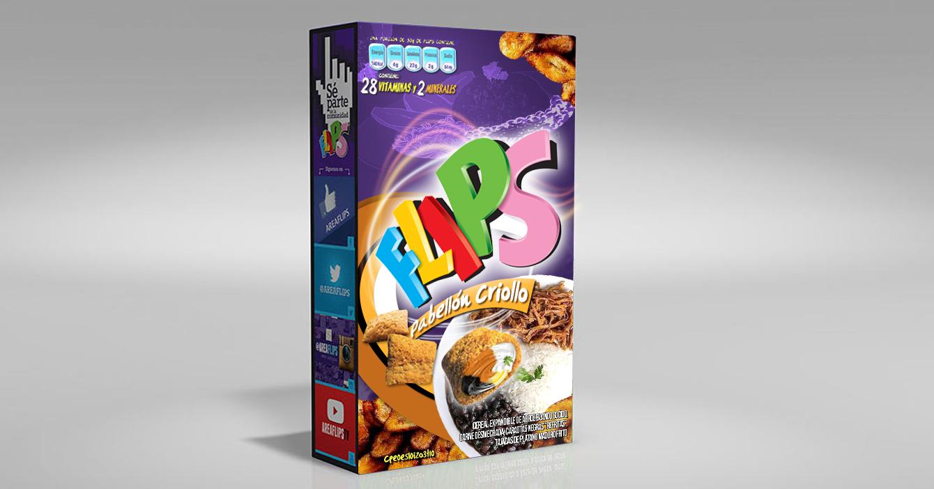 Flips presenta nuevo sabor a pabellón criollo