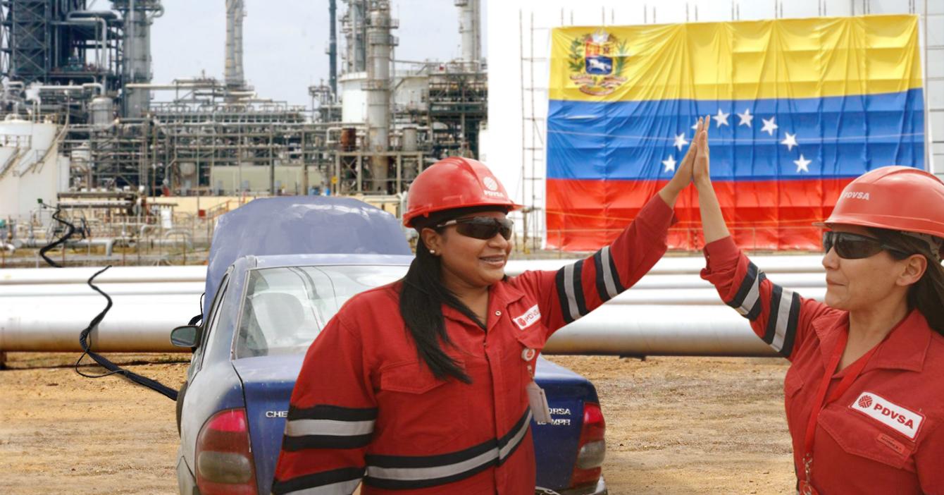 Gobierno reactiva Amuay usando cables auxiliares pegados a un Corsa
