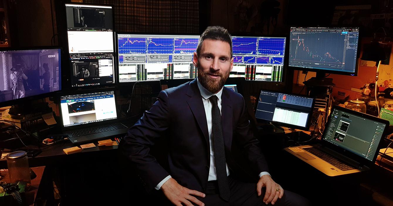 Messi abandona al Barcelona para hacerse millonario sin salir de casa
