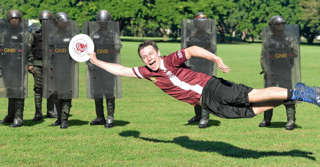 Torneo de Ultimate Frisbee es suspendido por redada antidrogas