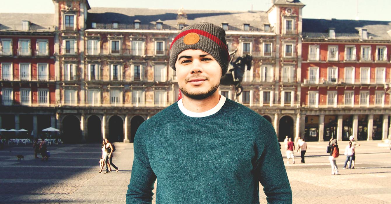 Verano en Madrid no logra que maracucho se quite el suéter