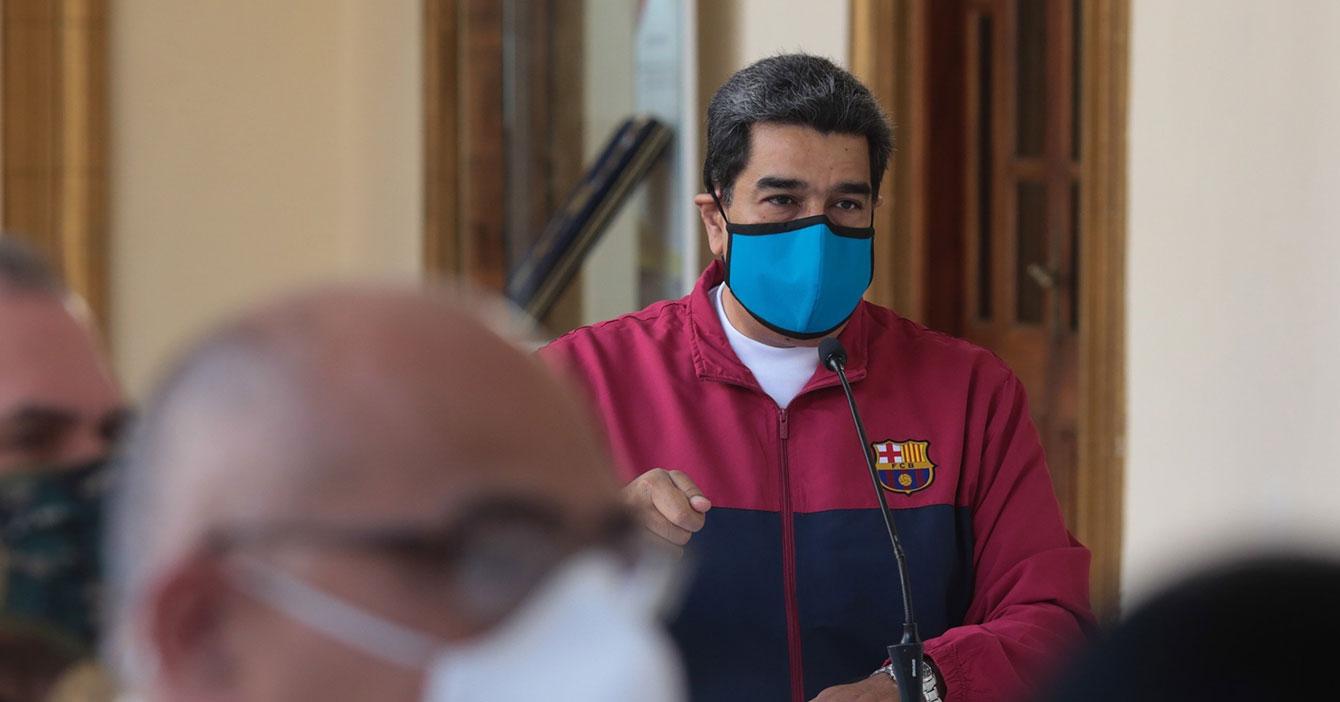 Maduro comunica al Barcelona que quiere seguir en Venezuela