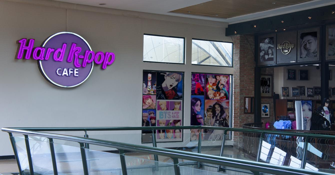 Hard Rock Café se cambia el nombre a Hard KPop Café