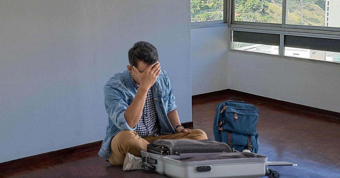 Chamo que tiene 6 meses con ropa lista en la maleta ya se le venció el pasaporte