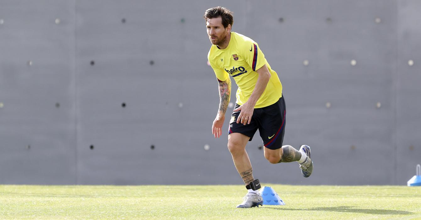 Nike estrena grillete electrónico para que Messi juegue la próxima temporada