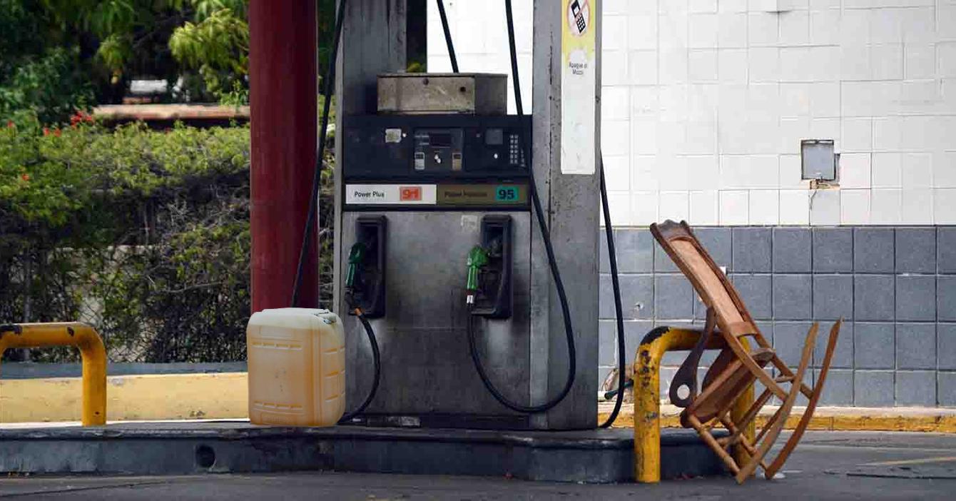 Dueño de bomba que importó una pimpina de gasolina supera a PDVSA como mayor distribuidor de combustible del país