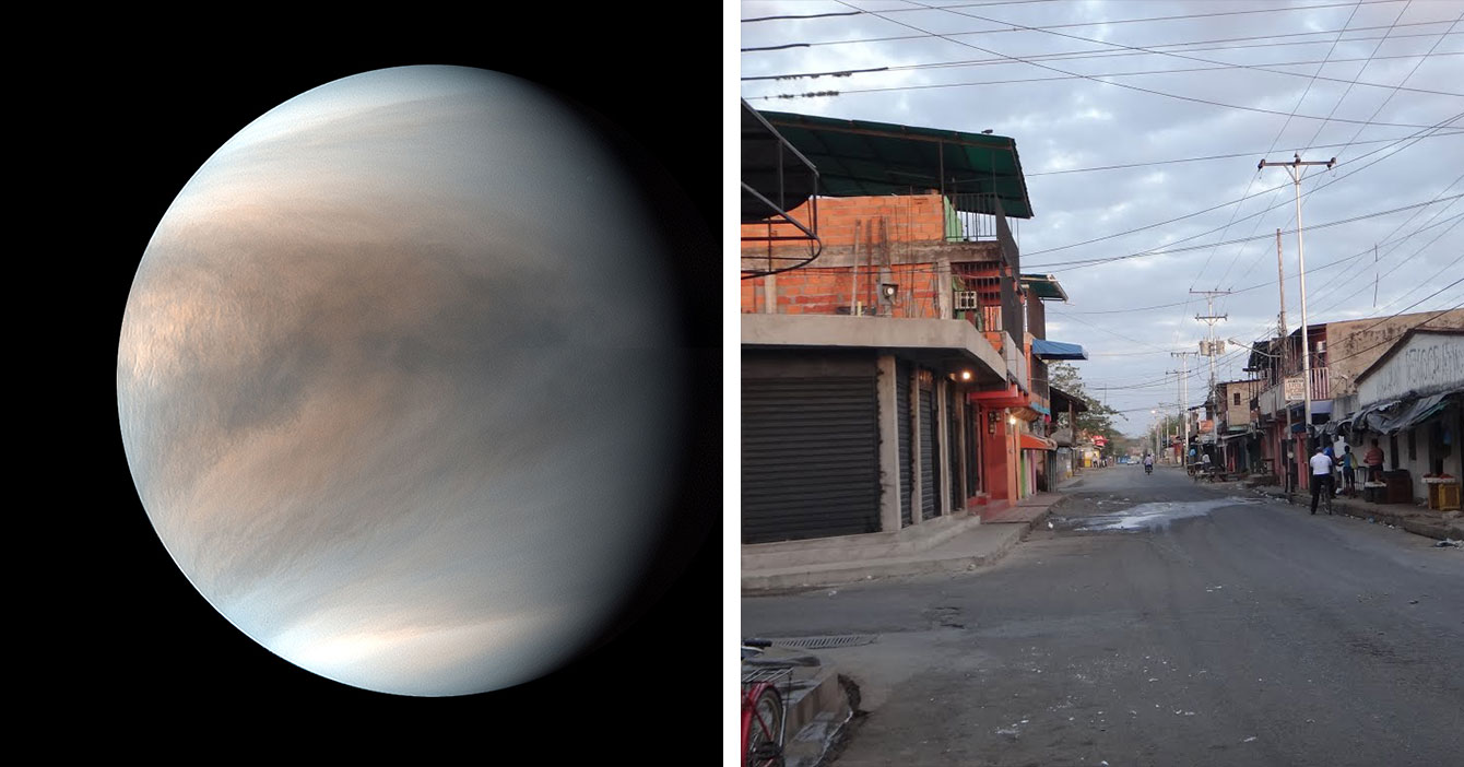 Condiciones de vida en Venus superan a las condiciones de vida de Guasdualito