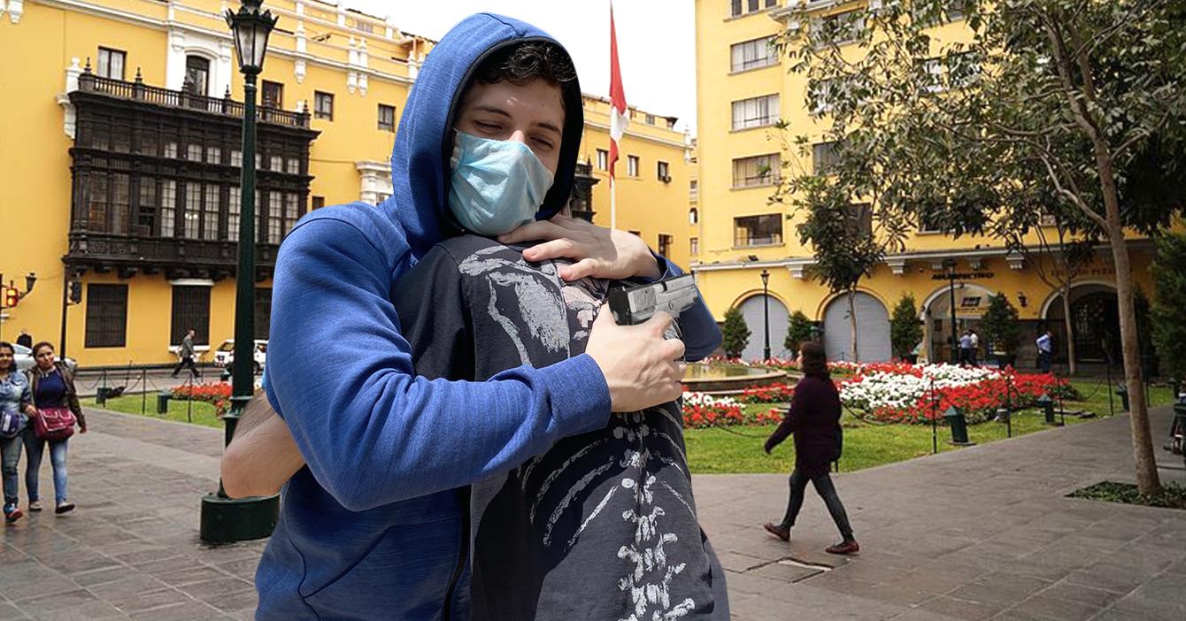 HERMOSO: Venezolano en Perú se reencuentra con el malandro que lo robó hace unos años