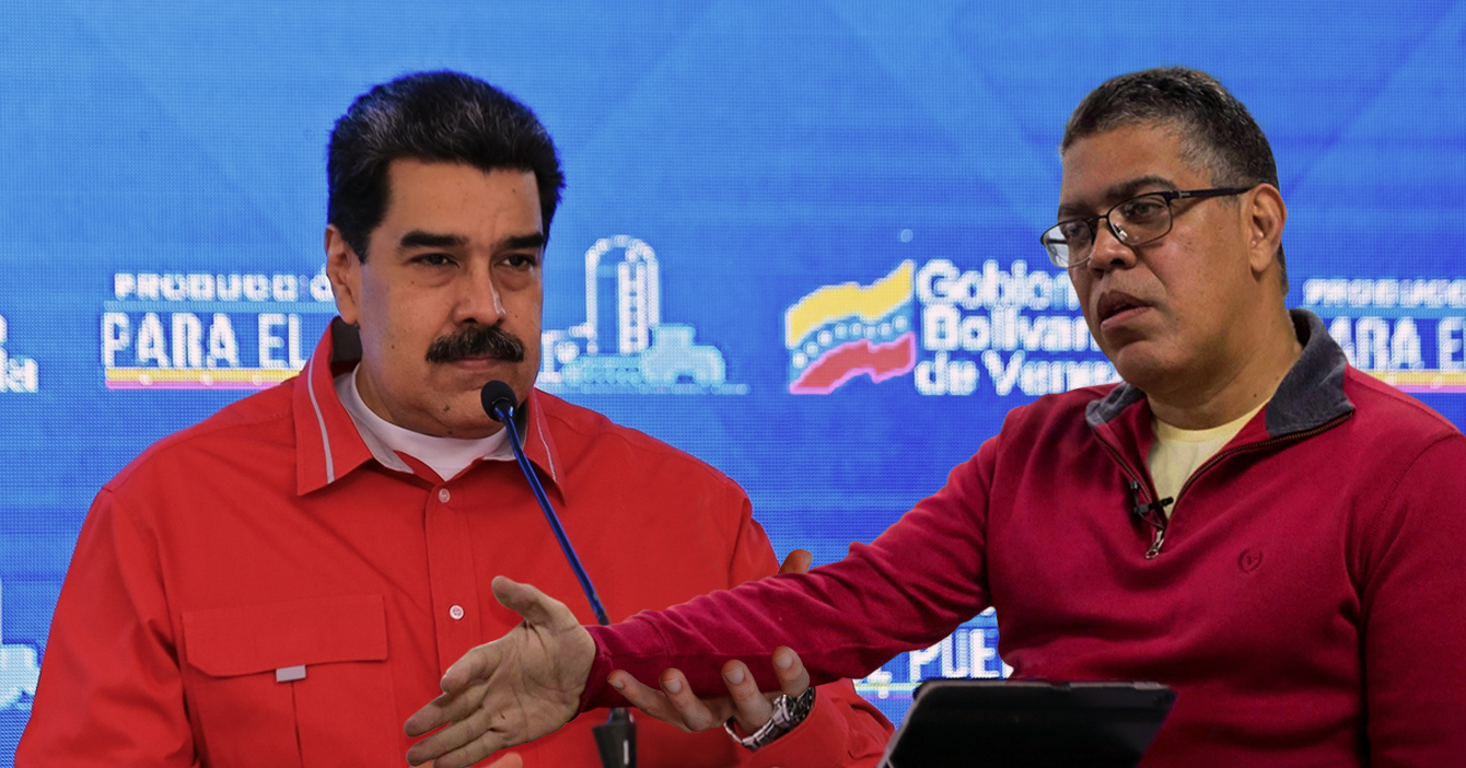 Maduro se ofrece para probar vacuna rusa con el brazo de Elías Jaua