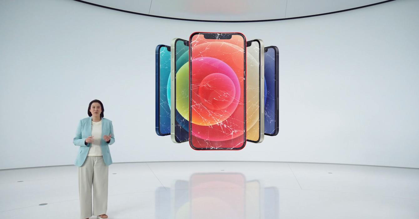 Nuevo iPhone 12 ya incluye la pantalla rota