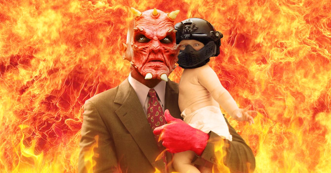 Satanás anuncia el nacimiento de su bebé Sebin