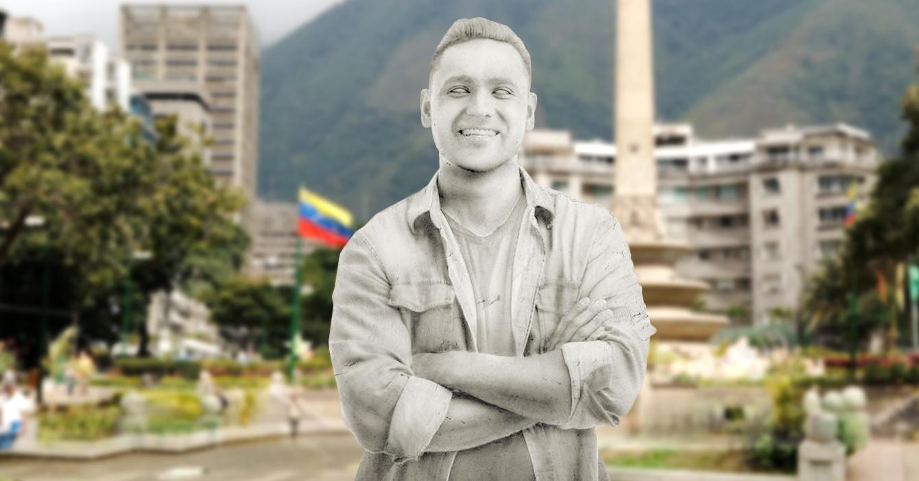 Develan estatua al héroe anónimo que presta el Zelle a toda Venezuela