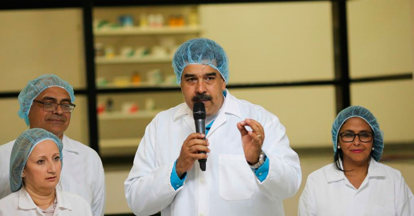 Maduro descubre una molécula que contiene todo el presupuesto del IVIC