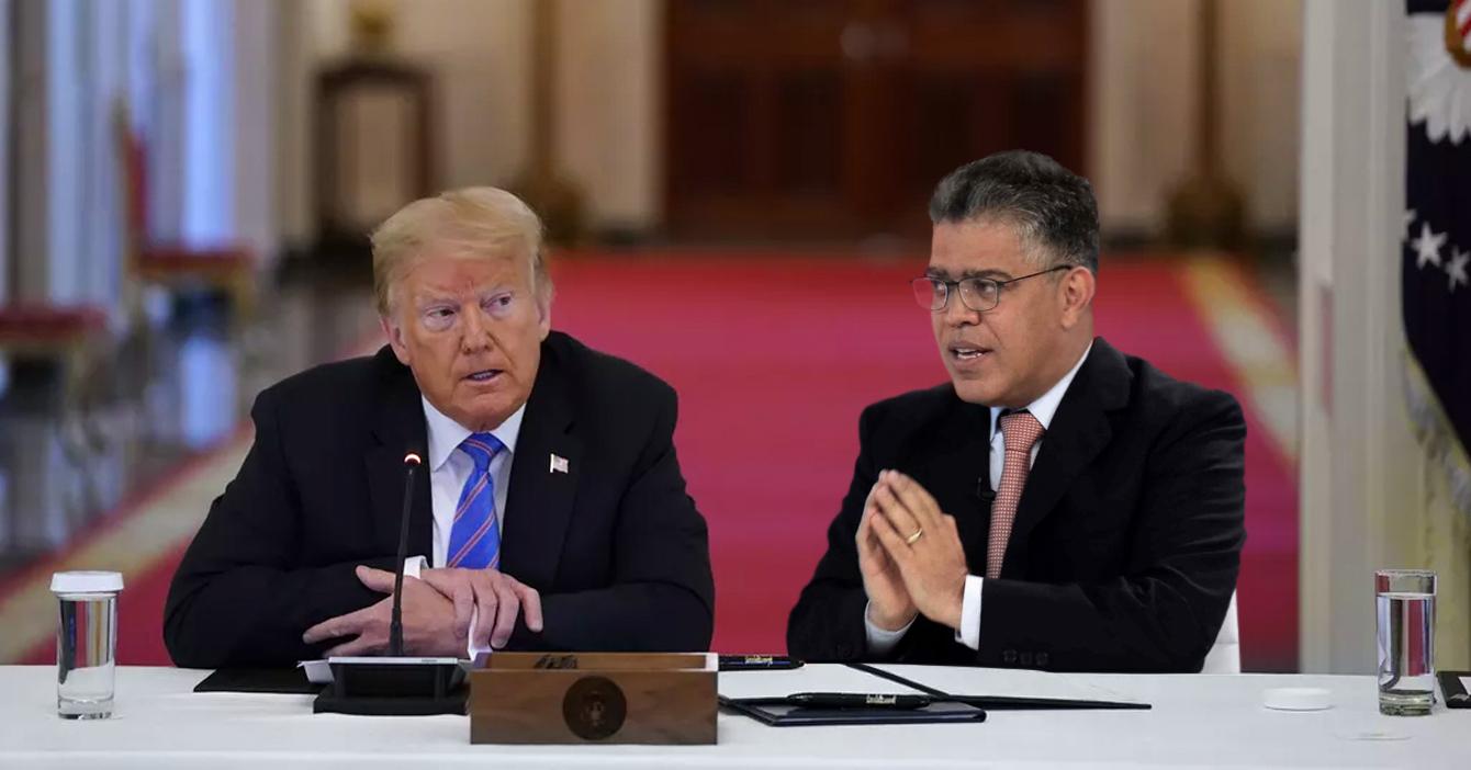 Trump designa a Jaua como protector de Estados Unidos