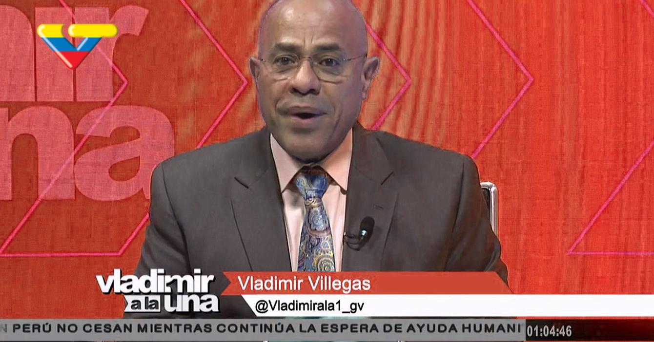 """""""Vladimir a la 1"""" vuelve para hacer duras críticas al régimen desde la señal de VTV"""