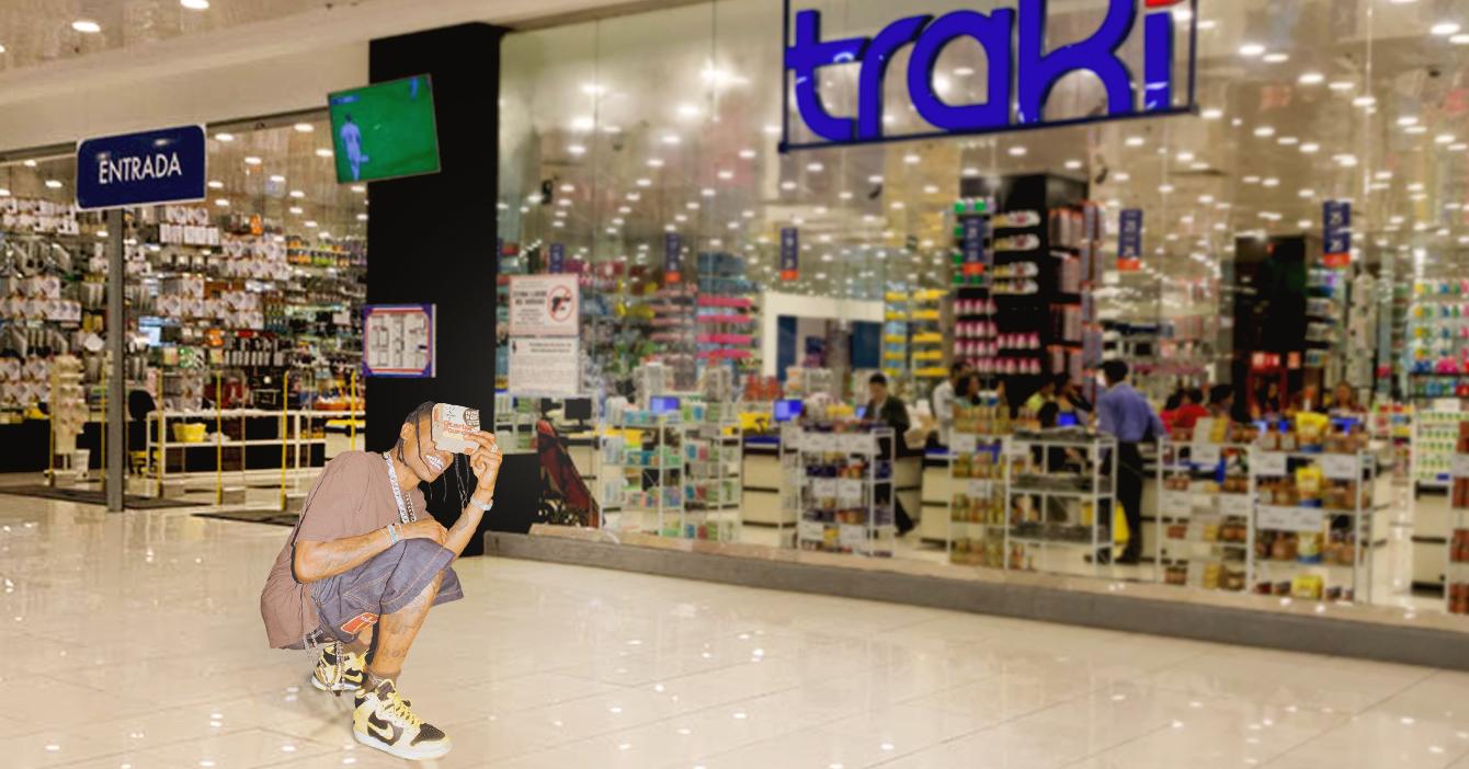 Travis Scott lanza bermudas en colaboración con Traki
