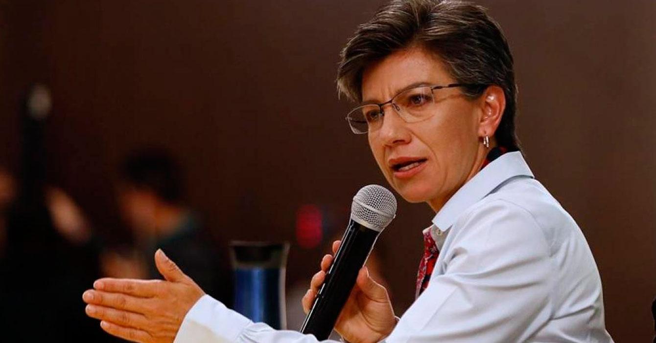 Claudia López asegura que Bogotá no es Dubai por culpa de los venezolanos