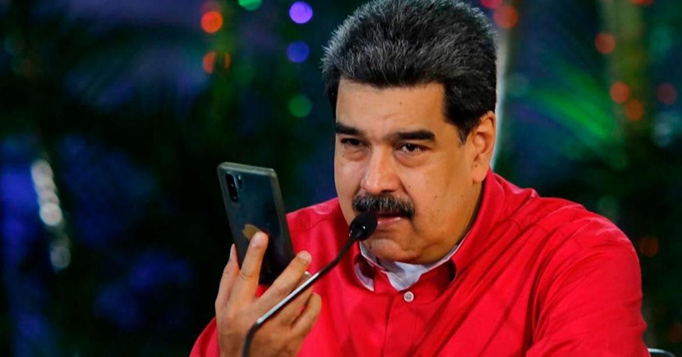 Maduro pregunta cuánto tiempo tarda María en pasarle los dólares