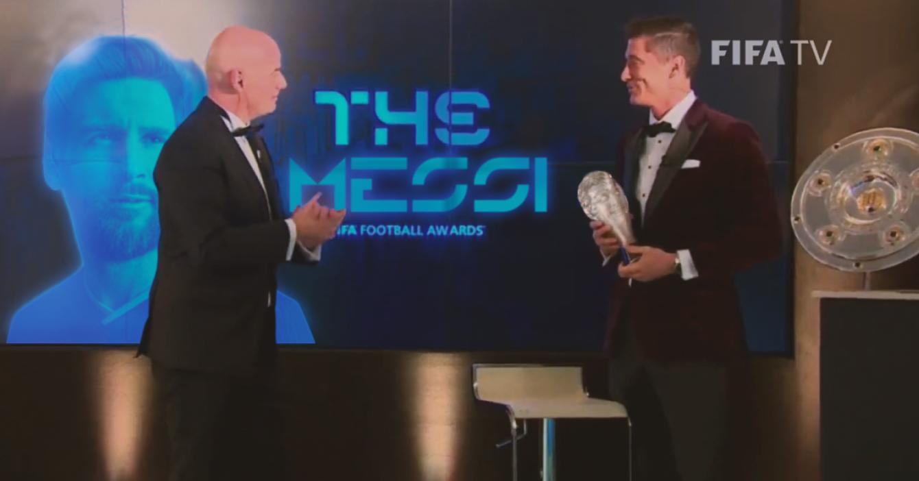 Lewandoski nombrado el mejor Messi del año