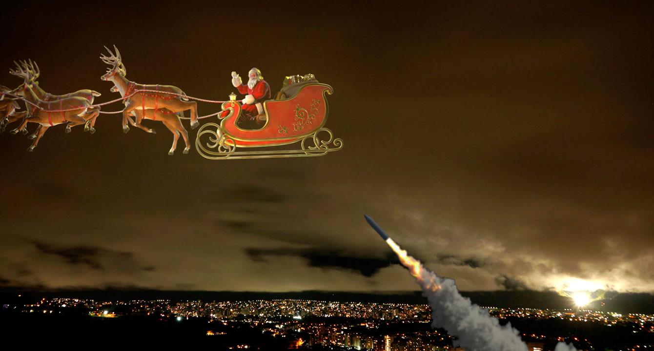 Gobierno prepara misiles antiaéreos ante llegada de Santa Claus