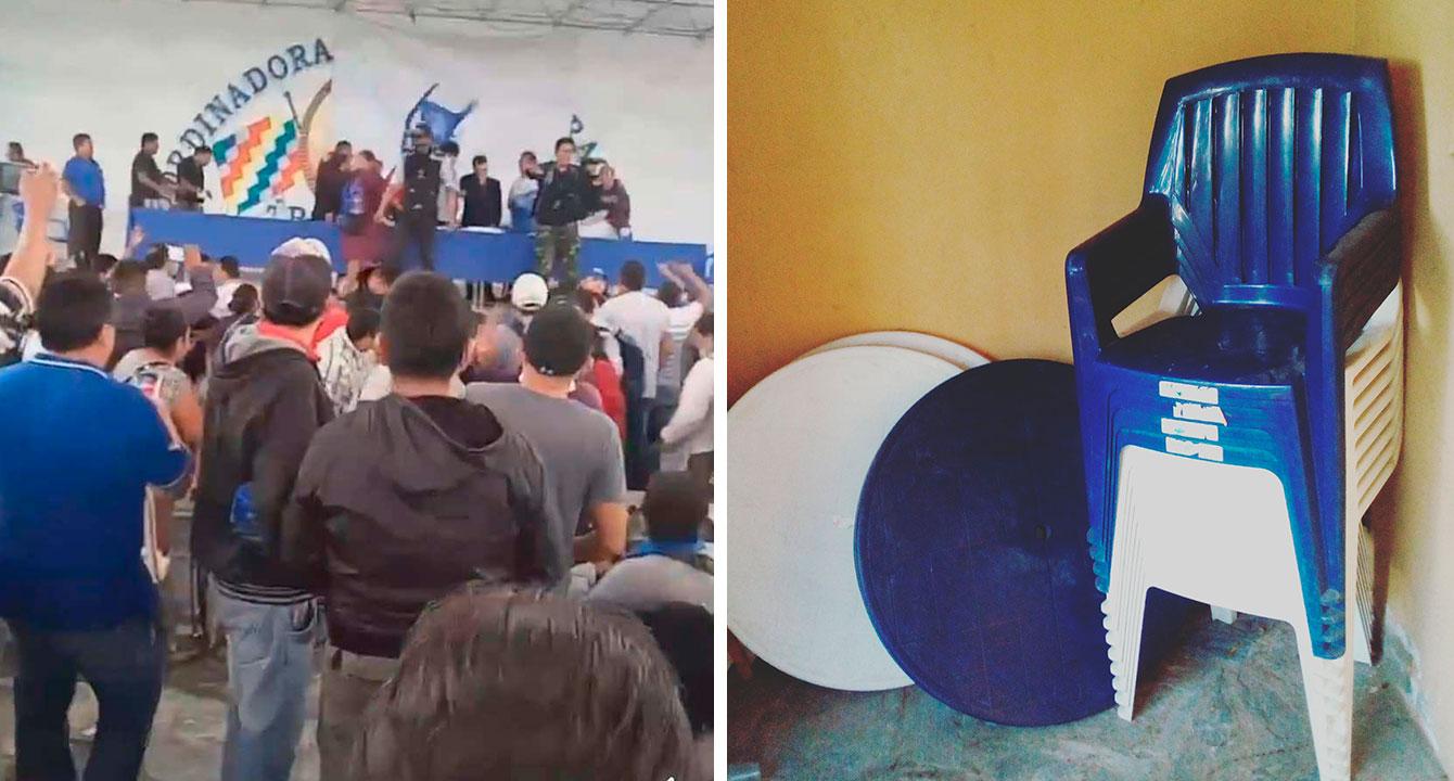 Silla que se pronunció contra Evo se refugia en Embajada de Chile