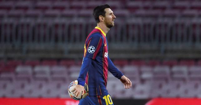 Cancelan Supercopa de España porque Messi se picó y se llevó el balón
