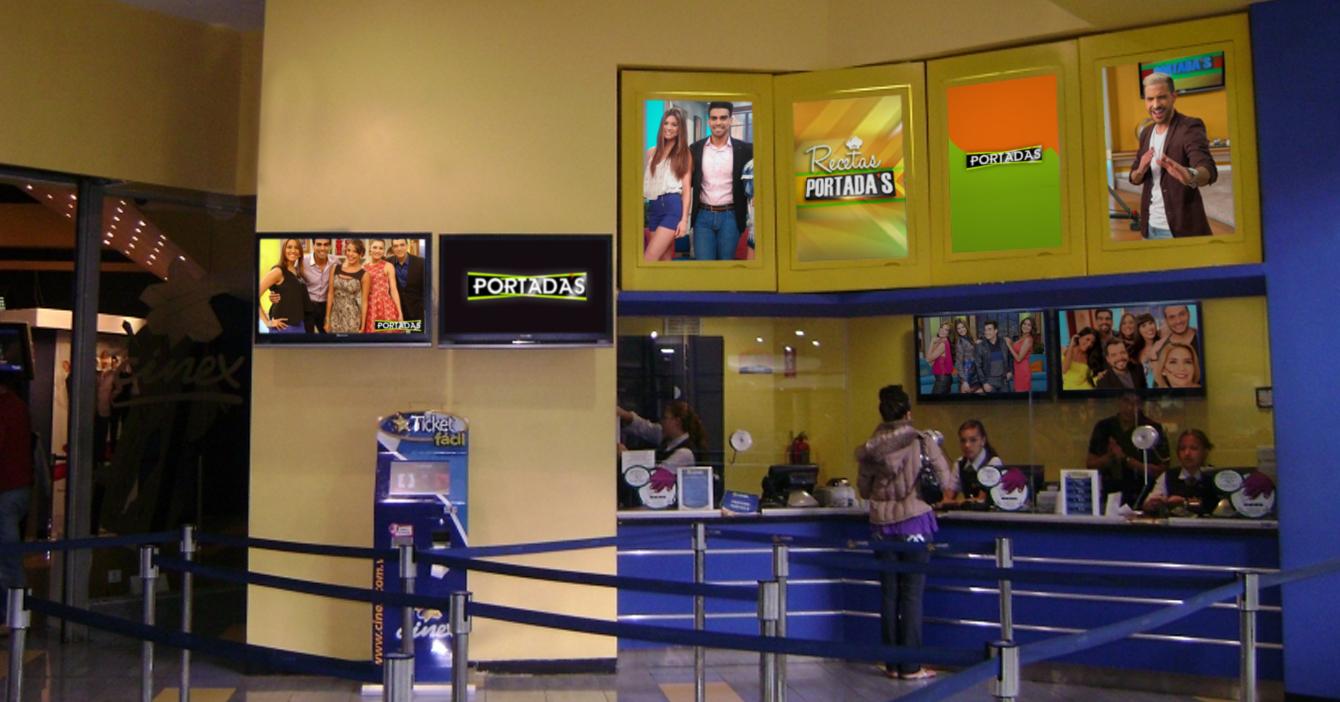 Cines reabren con estreno de 30 episodios de Portada's