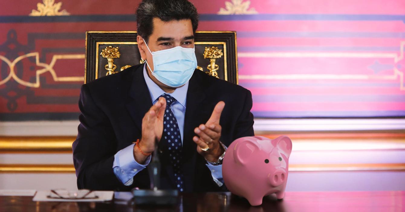 Cuenta bancaria en dólares en realidad es alcancía de Maduro