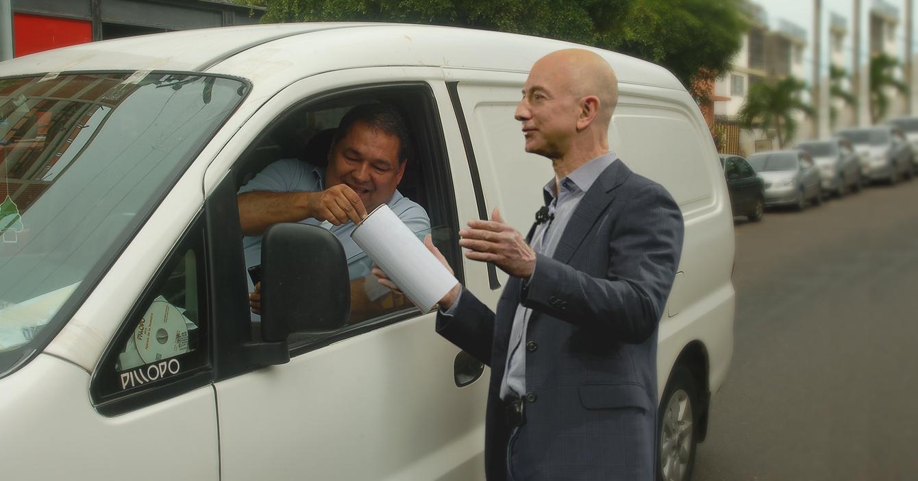 Jeff Bezos hace potazo para superar a Elon Musk