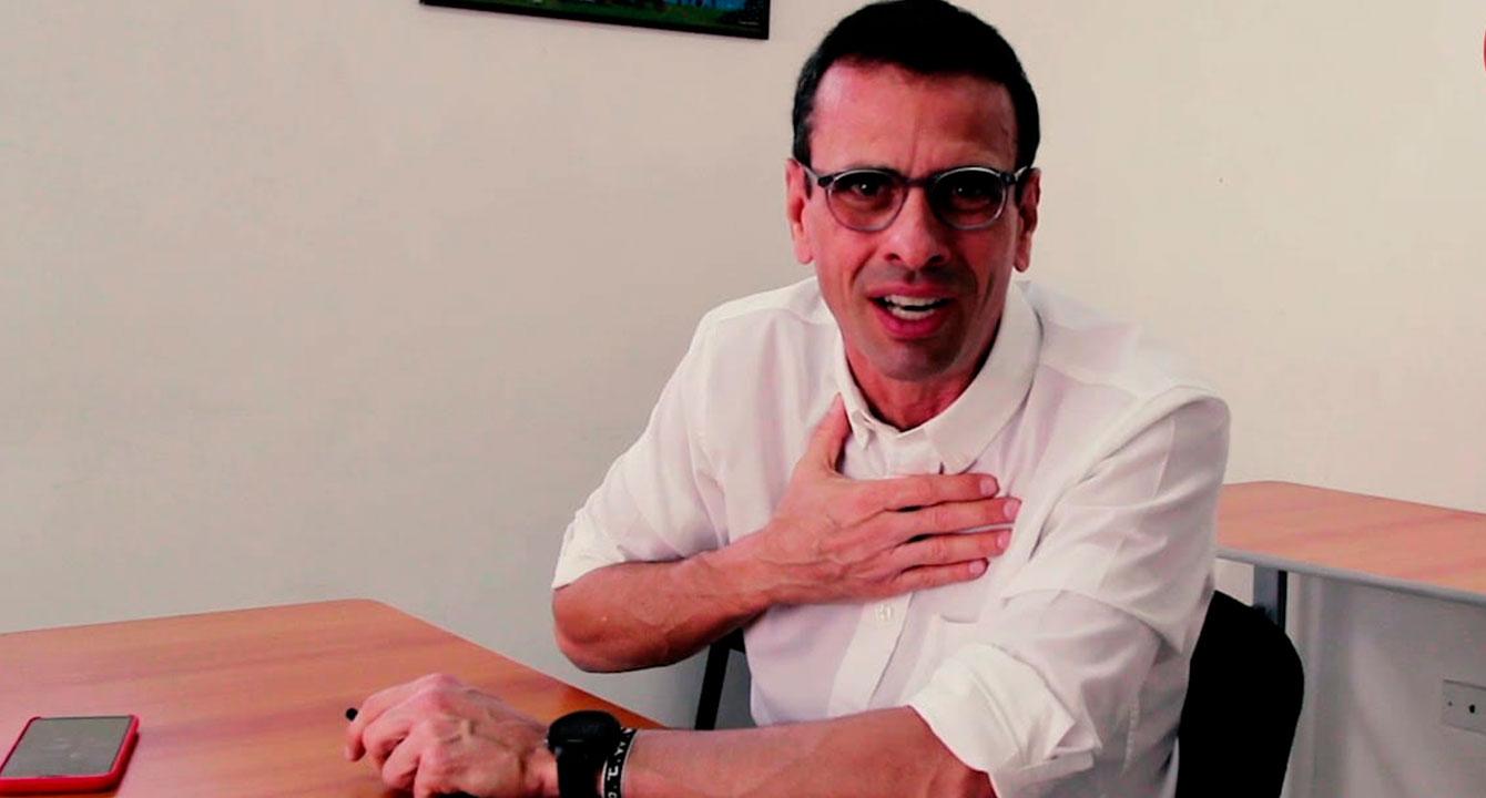 Capriles se plantea participar en elecciones regionales a cambio de una pastilla de freno