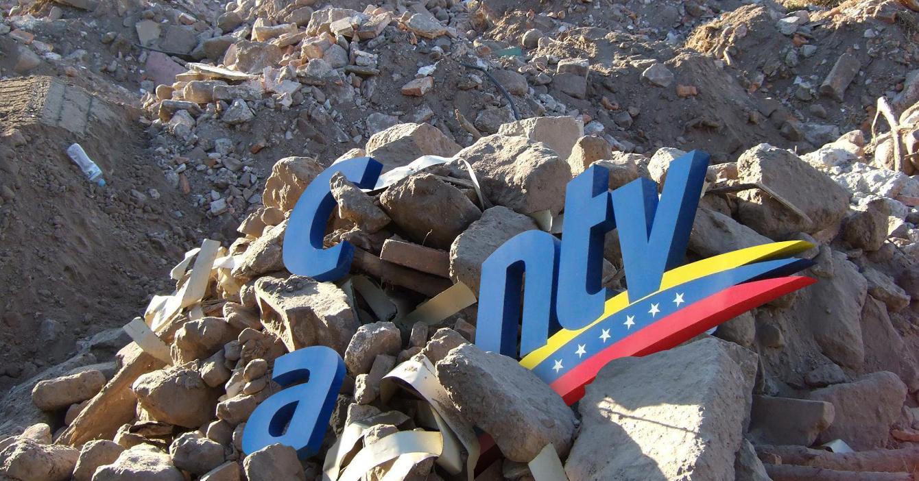Gobierno estudia la posibilidad de privatizar los escombros de CANTV