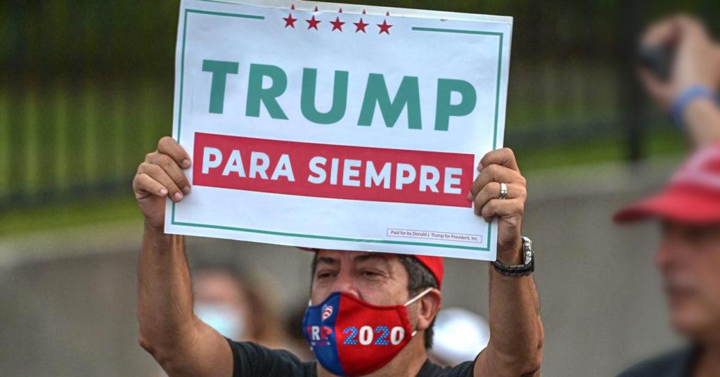 Venezolano en Miami 100% seguro que TPS significa Trump Para Siempre