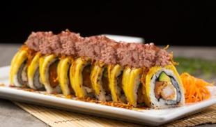 Sushi con Diablitos y tajadas es la sensación en restaurant japonés en Doral